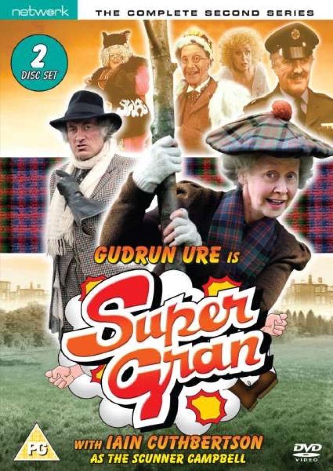 Super Gran Complete Series 2 Dvd Zavvi
