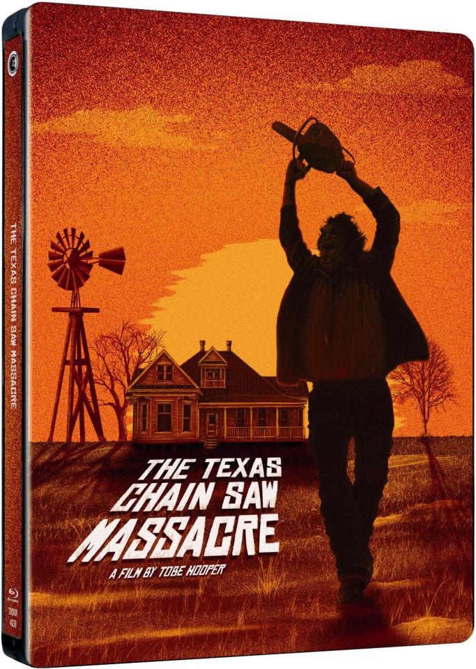The Texas Chainsaw Massacre (1974) - 40th Anniversary Limited Edition Steelbook Blu-ray | Zavvi.com