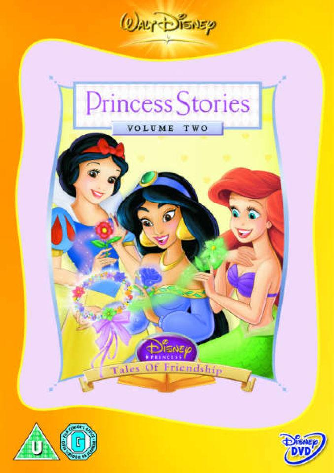 Disneys Princess Stories Volume 2 Dvd Zavvi