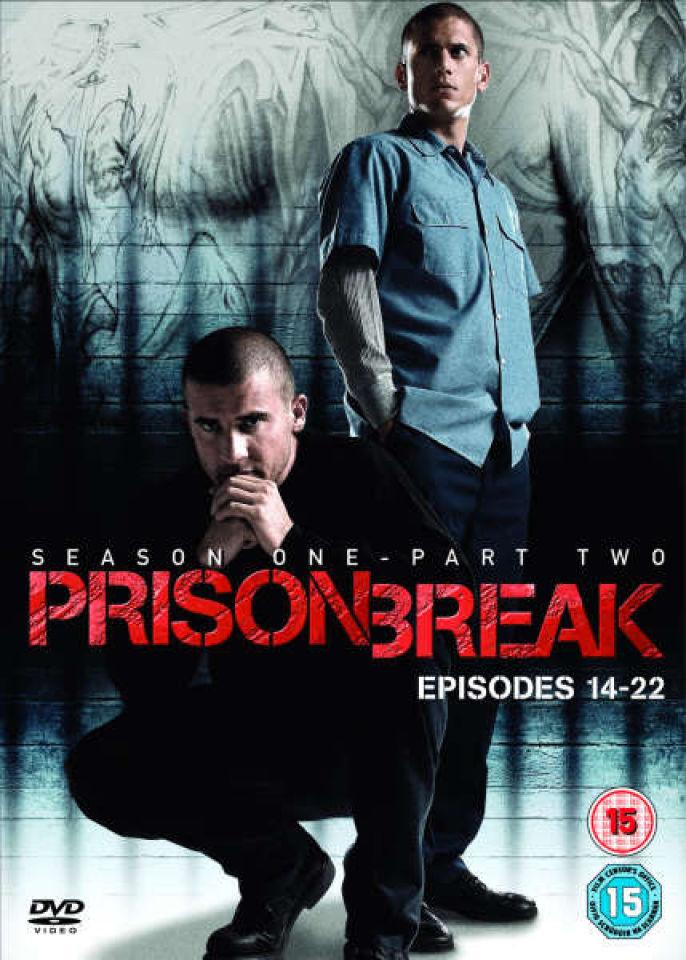 Prison Break Season 1 Part 2 Dvd Zavvi