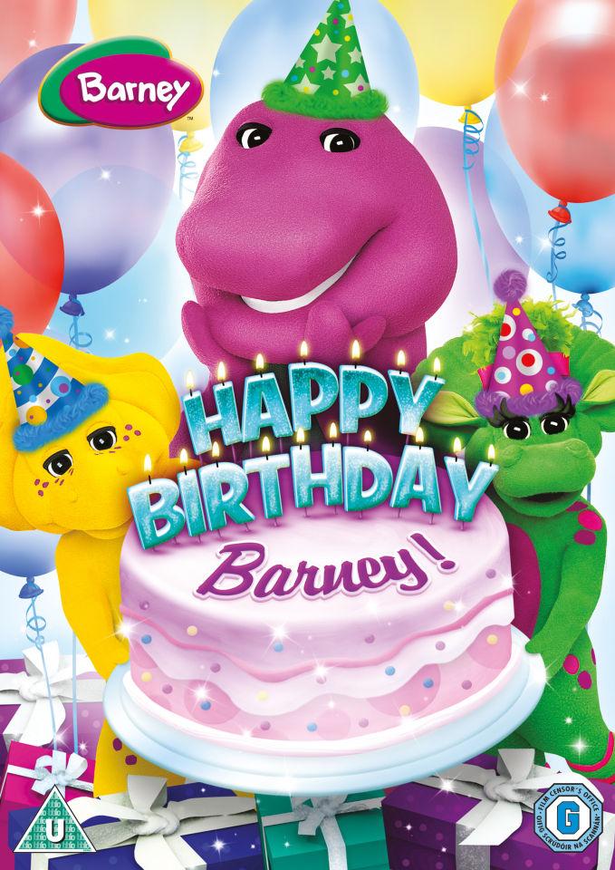 Happy Birthday Barney Dvd Zavvi