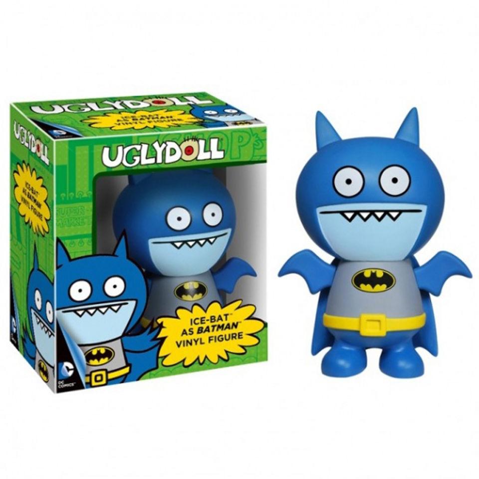 Dc Comics Uglydolls Ice Bat As Batman Pop Vinyl Figures