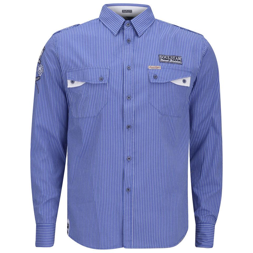 Soul-Star-Mens-Kingdom-Shirt-Blue