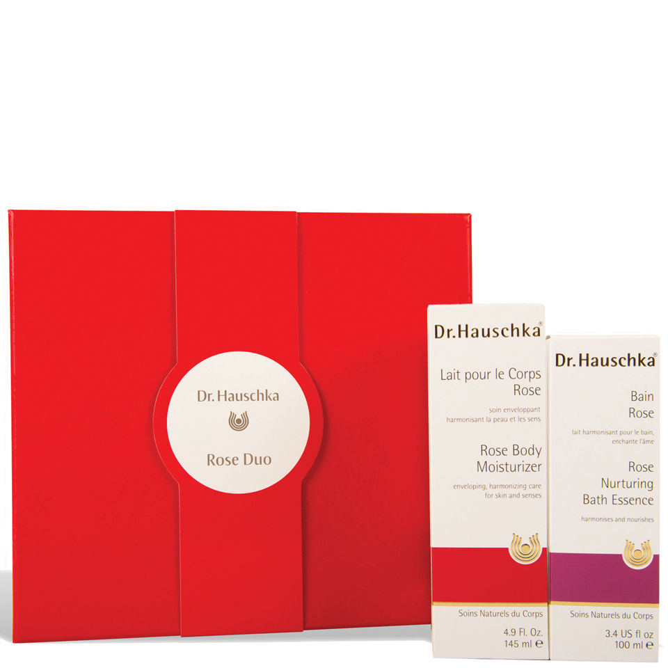 dr hauschka rose duo gift set free shipping lookfantastic. Black Bedroom Furniture Sets. Home Design Ideas
