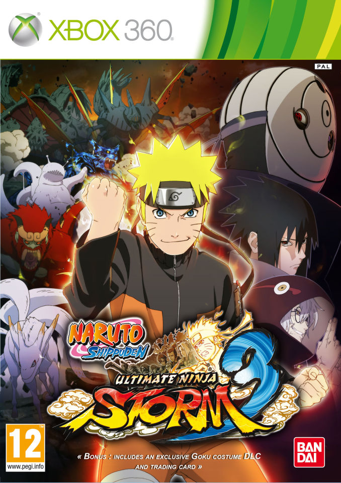 Naruto Shippuden Ultimate Ninja Storm 3 Xbox 360 Zavvi Com