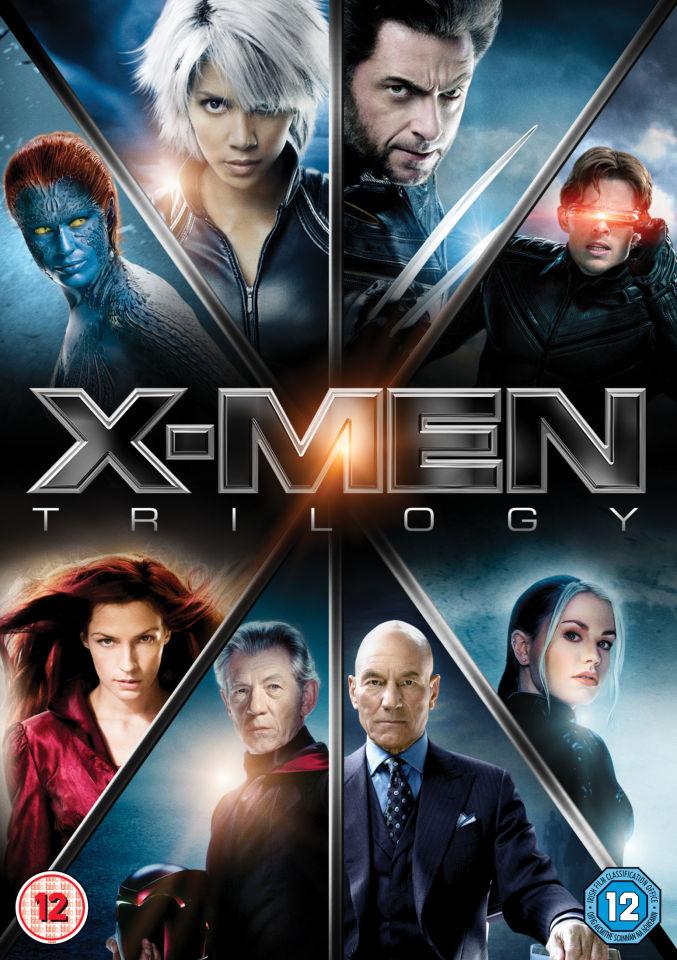 X Men Trilogy Dvd Zavvi