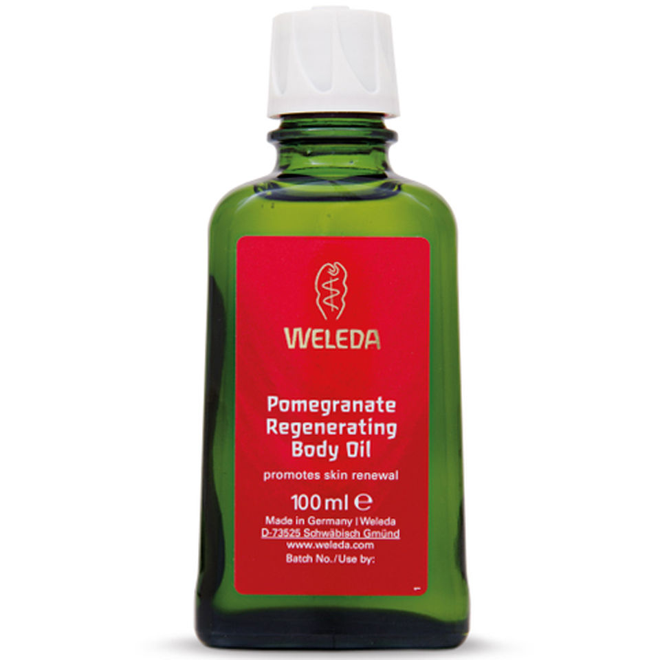 Weleda Pomegranate Regenerating Body Oil 100ml Free