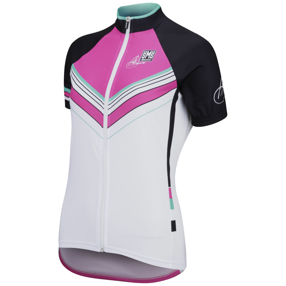 Santini-Womens-Anna-Meares-Tour-Down-Under-Jersey-White-New-Cycling