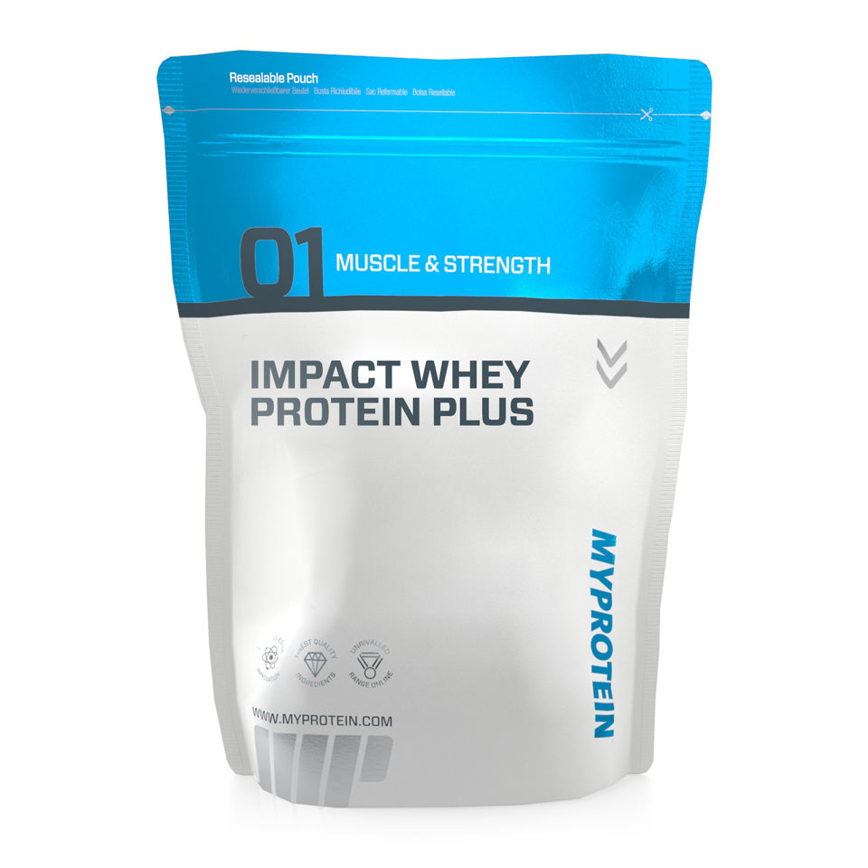 Impact Whey Protein Aminograma Impact Whey Protein Plus View