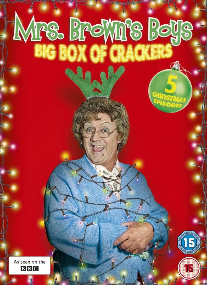 Mrs Brown S Boys Christmas Specials 2011 2013 Dvd Zavvi