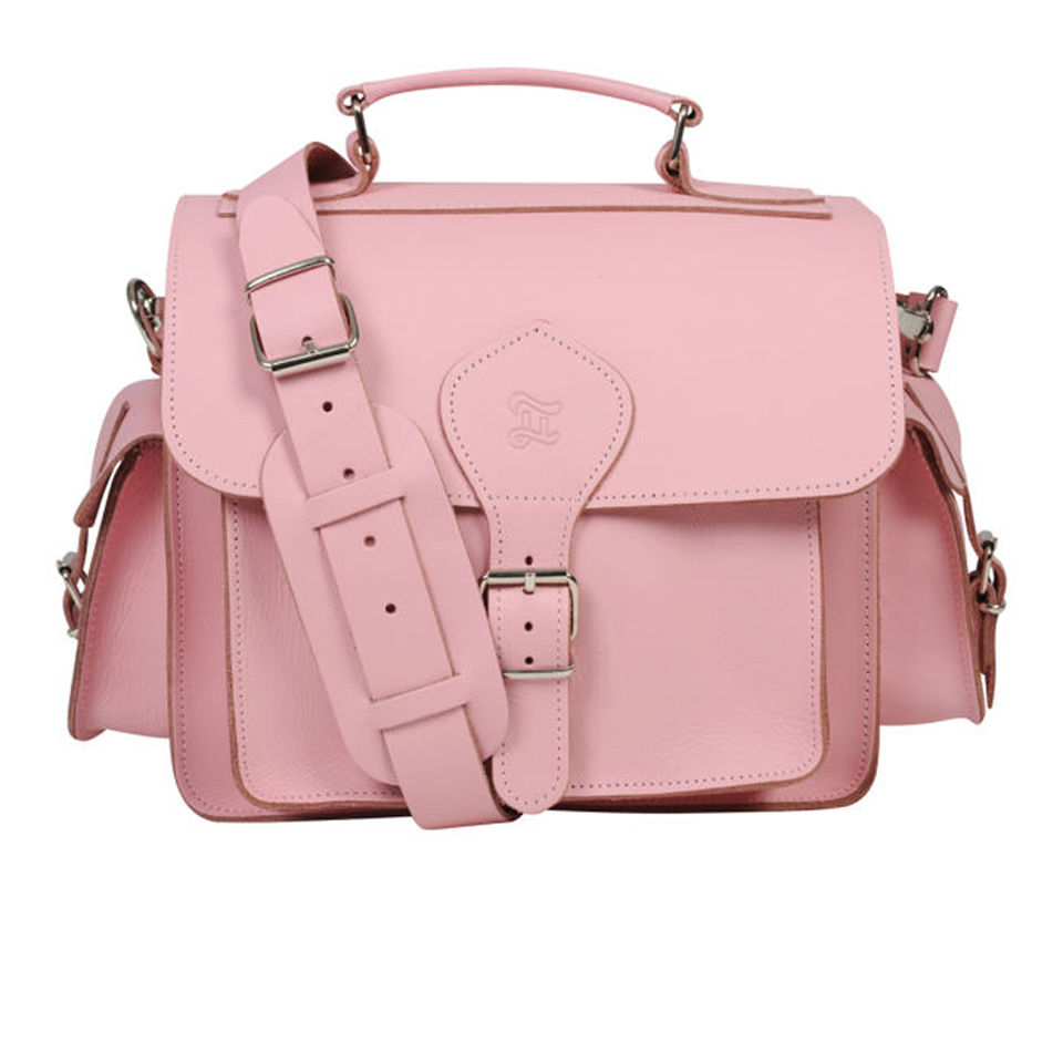 Grafea Leather Camera Bag Pink Womens Accessories