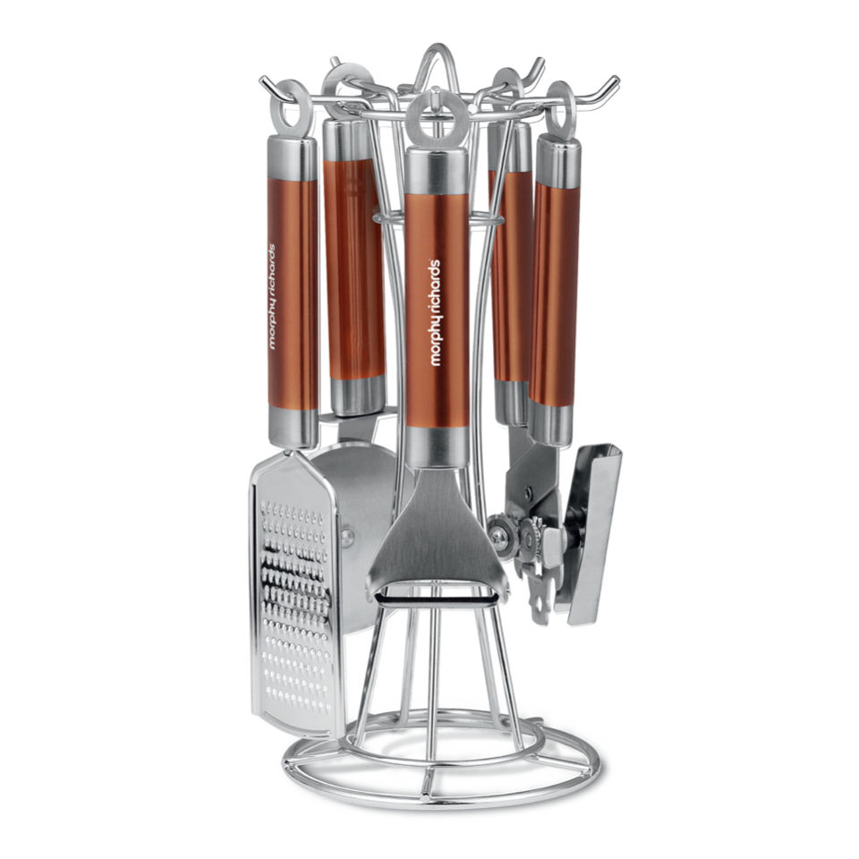 Morphy Richards Kitchen Set: Morphy Richards Accents 4 Piece Gadget Set - Copper