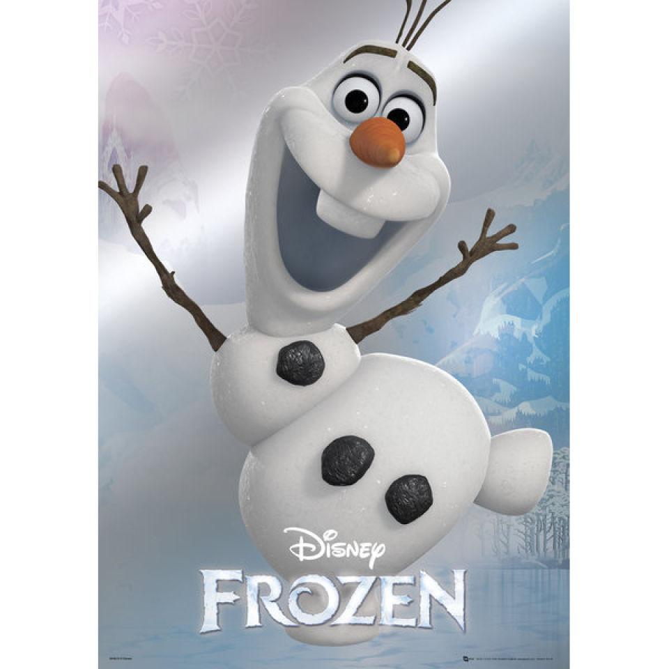 Frozen Poster Olaf Disney Frozen Olaf - M...