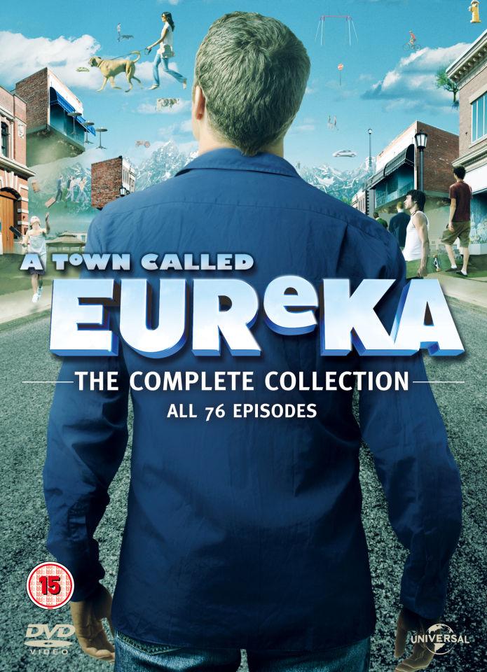 A Town Called Eureka Seasons 1 5 Dvd Zavvi