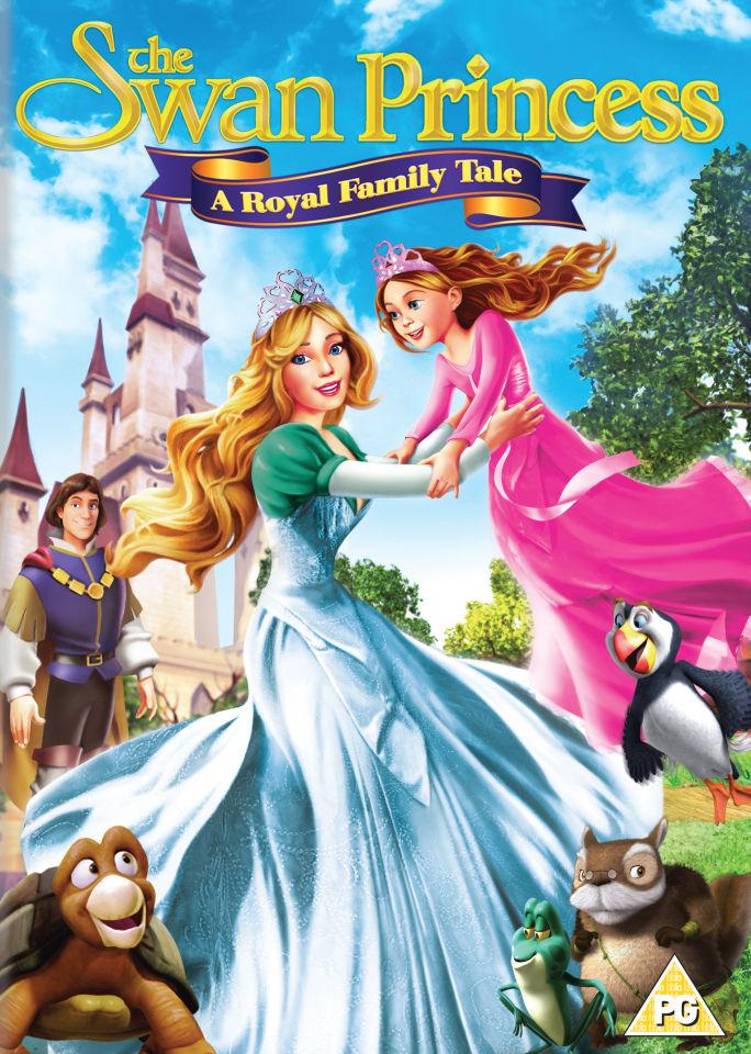 The Swan Princess A Royal Family Tale Dvd Zavvi
