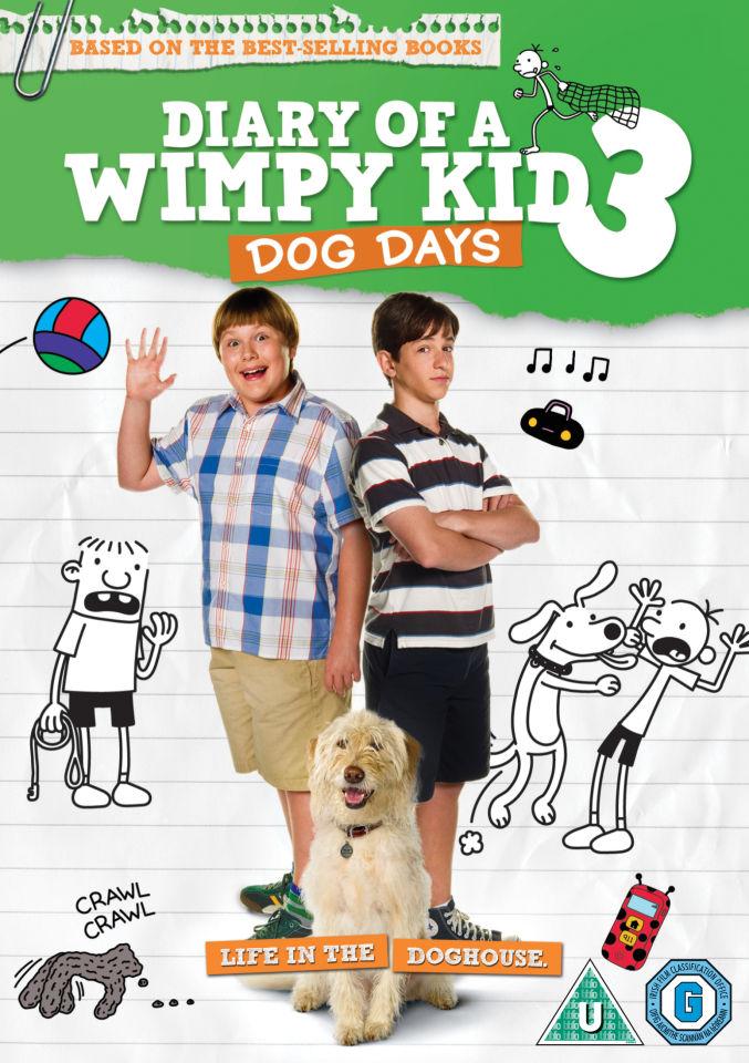 Diary of a Wimpy Kid 3: Dog Days DVD | Zavvi.com