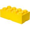 LEGO Storage Brick 8 - Yellow: Image 1
