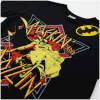 DC Comics Men's Batman Rockin N Rollin T-Shirt - Black: Image 3