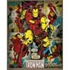 Marvel Comics Iron Man Retro - 16 x 20 Inches Mini Poster: Image 1