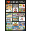 The Simpsons Postcards - 24 x 36 Inches Maxi Poster: Image 1