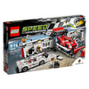 LEGO Speed Champions: Porsche 919 Hybrid and 917K Pit Lane (75876): Image 1
