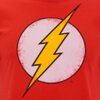 DC Comics Men's Flash Distress T-Shirt - Red: Image 5