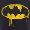DC Comics Men's Batman Dripping Logo T-Shirt - Black: Image 5