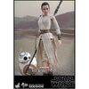 Hot Toys Star Wars The Force Awakens Rey and BB-8 1:6 Scale Figures: Image 2