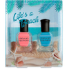 Deborah Lippmann Life's a Beach Nail Varnish Set (2 x 8ml): Image 1