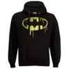 DC Comics Men's Batman Dripping Logo Hoody - Black: Image 1