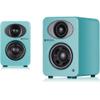 Steljes Audio NS1 Bluetooth Duo Speakers - Lagoon Blue: Image 1
