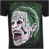 DC Comics Men's Suicide Squad Joker Head T-Shirt - Black: Image 5