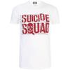 DC Comics Men's Suicide Squad Line Up Logo T-Shirt - White: Image 1