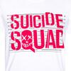 DC Comics Men's Suicide Squad Line Up Logo T-Shirt - White: Image 2