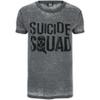 DC Comics Men's Suicide Squad Logo T-Shirt - Grey: Image 1