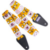 Adventure Time Finn and Jake Fabric Guitar Strap: Image 1