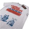 Easy Rider Men's Choppers T-Shirt - Grey Marl: Image 3