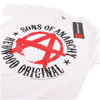 Sons of Anarchy Men's Anarchy T-Shirt - White: Image 3