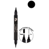 Mirenesse D.A.D Define Art Double 24 Hour Eye Liner 1.4ml - Black: Image 1