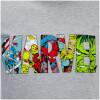Marvel Men's Comic Strip Logo T-Shirt - Sports Grey: Image 5