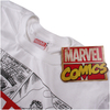 Marvel Men's Mono Comic T-Shirt - White: Image 3