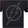 DC Comics Men's The Flash Line Logo T-Shirt - Black: Image 5