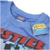 DC Comics Men's Justice League T-Shirt - Heather Royal: Image 2