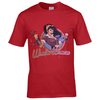 DC Comics Men's Bombshell Wonder Woman Logo T-Shirt - Red: Image 1