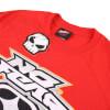 No Fear Men's Reflective Logo T-Shirt - Red: Image 3
