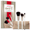 bareMinerals Give me a Swirl Brush Collection includes Brush Roll: Image 1