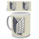 Attack on Titan Badge Mug