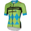 Castelli Cannondale Garmin TDF Team 2.0 Jersey Fz - Black/Green