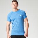 Myprotein 运动表现系列男士短袖上衣 –  蓝灰色