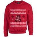 Star Wars Kids' Christmas Darth Vader Sweatshirt - Red